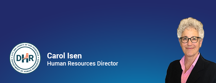 Carol Isen, Human Resources Director
