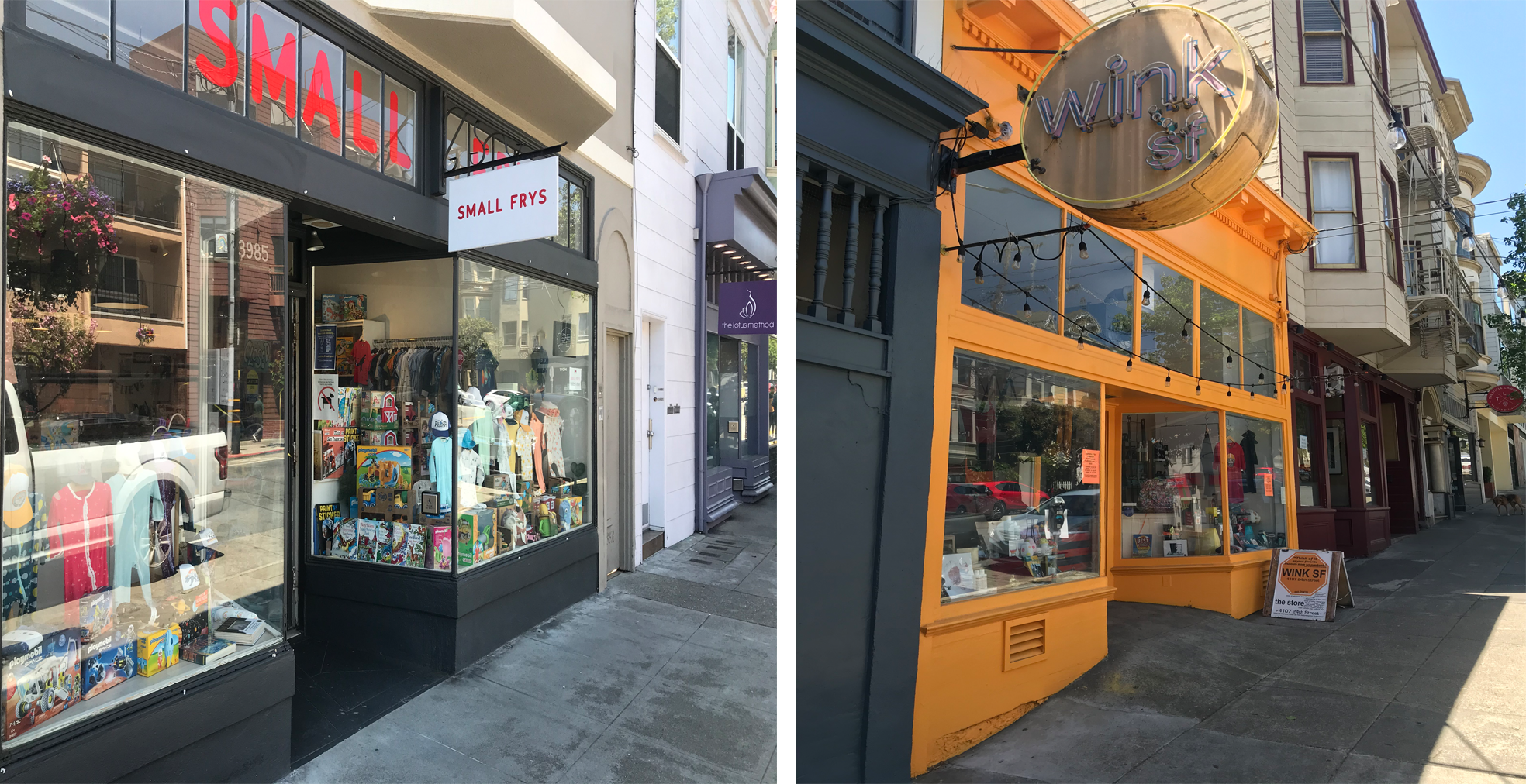 SF Shops Open for Business