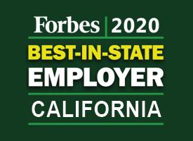 Forbes Best in State Employer 2020